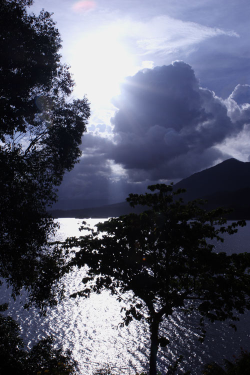 Sun and Clouds - Lembeh Strait Resort