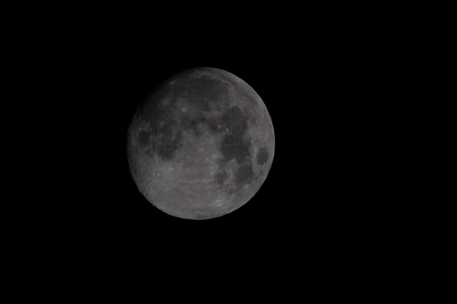 The Moon with a 800mm lens
