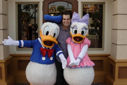 Disneyland Resort HongKong - Donald, Alex and Daisy